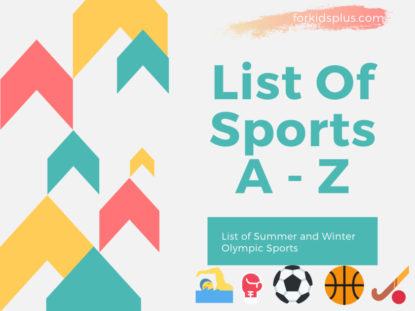 List of Sports A - Z