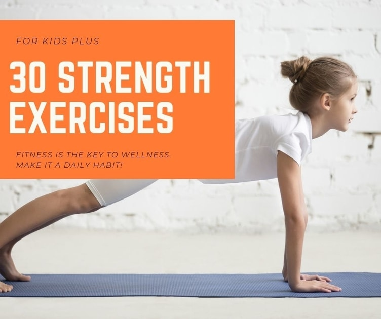 Strength exercises for kids